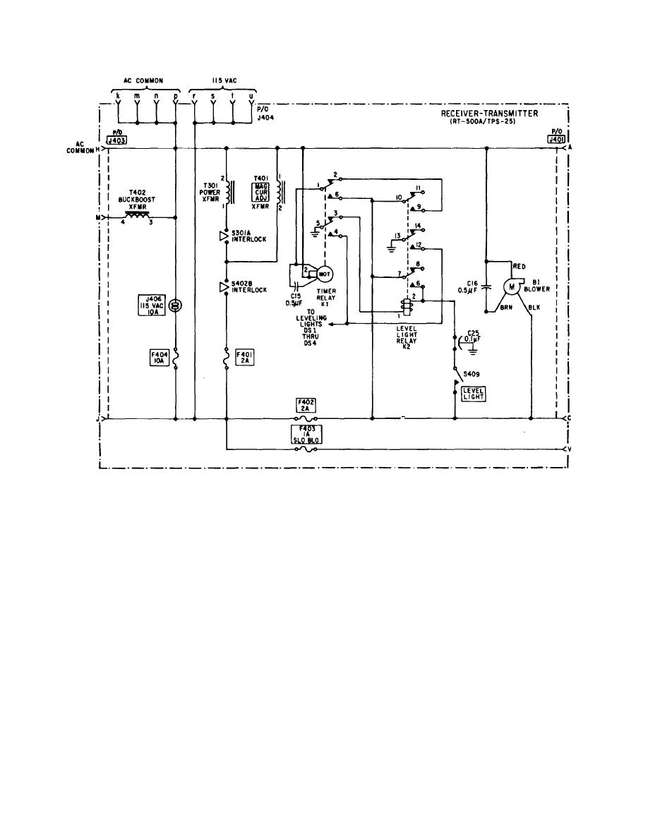 level lights control circuit