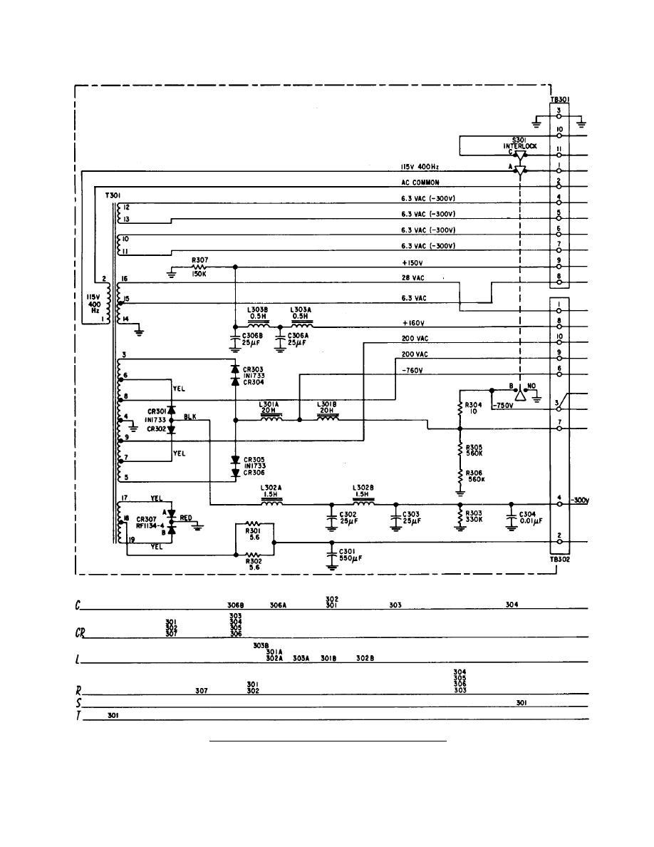 Receiver Transmitter Power Supply Circuit Diagram Tm 11 5840 217 34 1