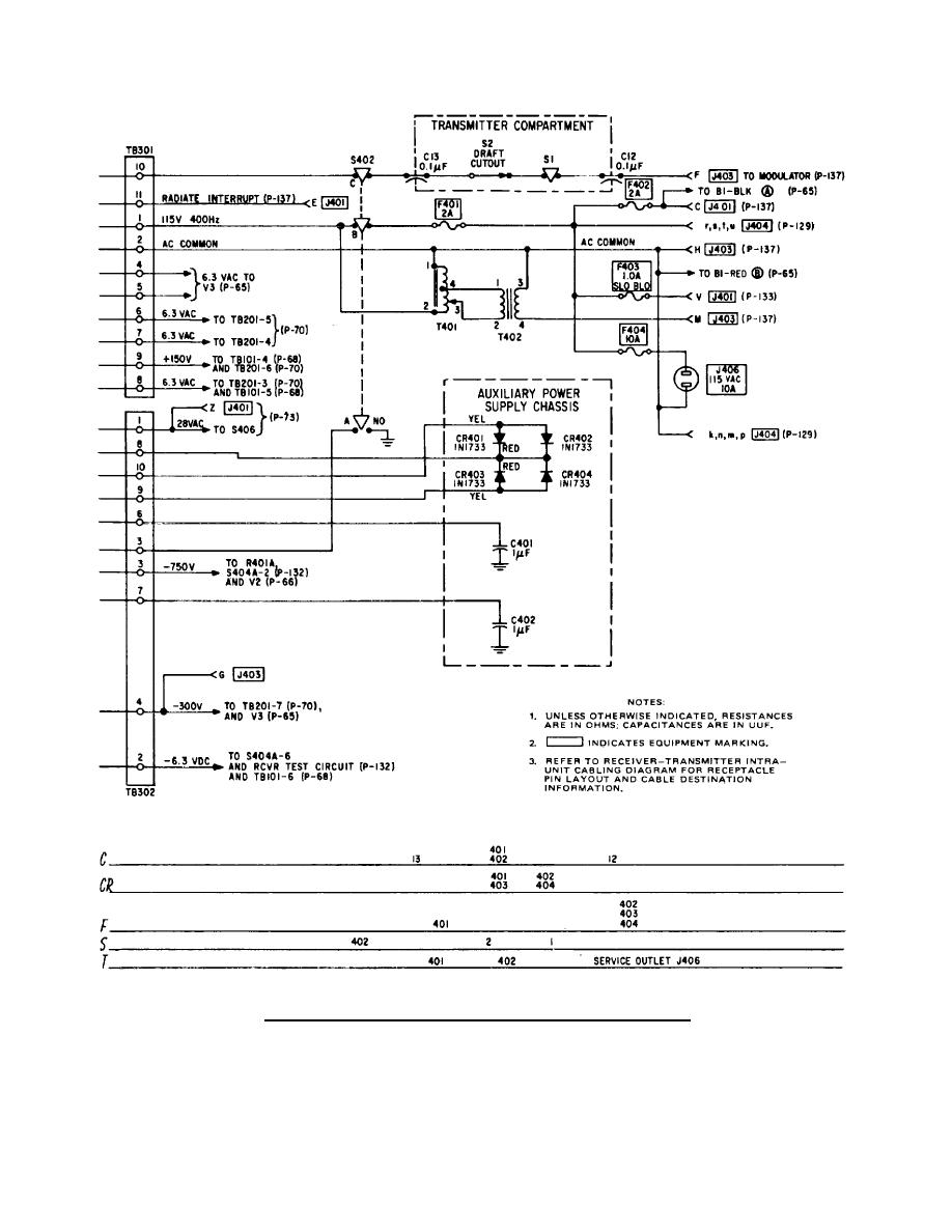 receiver transmitter power supply circuit diagram continued. Black Bedroom Furniture Sets. Home Design Ideas