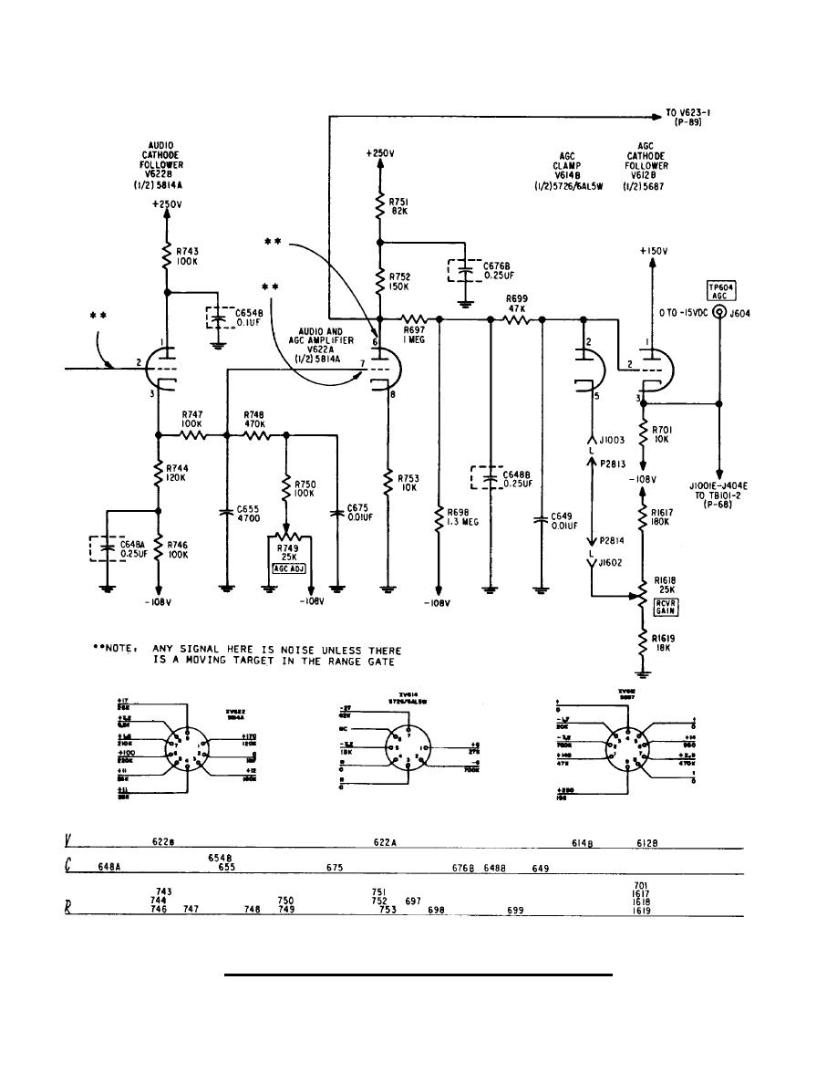 audio and agc channel i circuit diagram continued. Black Bedroom Furniture Sets. Home Design Ideas