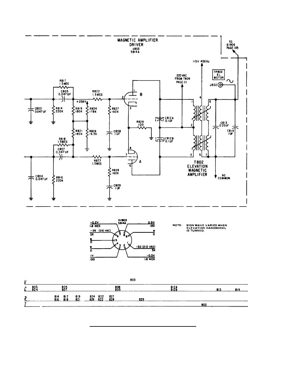 elevation servoamplifier circuit diagram continued. Black Bedroom Furniture Sets. Home Design Ideas